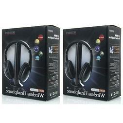 2X New 5 in 1 Wireless Headphone Earphone for MP3/MP4 PC TV