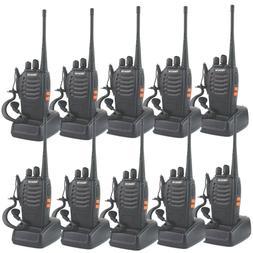10-Pack Retevis H777 WalkieTalkie UHF400-470MHz 2-Way Radios