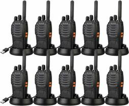 10XRetevis H777 Walkie Talkie CTCSS/DCS UHF VOX 16CH 2Way Ra