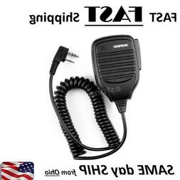 1x  Handheld BF-S112 Two Way Radio Speaker 3.5MM to 2.5MM Fo