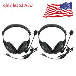 2X 2Pin Headset Earpiece for BAOFENG UV5R Retevis RT22 H777