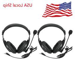 2X 2Pin Headset Earpiece for BAOFENG UV5R Retevis RT22 H777