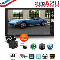 2 DIN 7in Car Stereo Radio MP5 FM Player AUX Android/IOS Mir