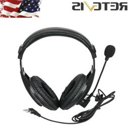 Retevis 2-Pin PTT Headset Earpiece For H777 Baofeng888s Kenw