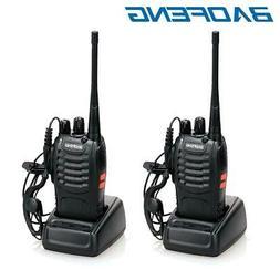 2 x Baofeng BF-888S Two Way Radio 400-470MHz Walkie Talkie S