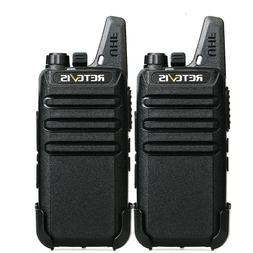 24*Retevis RT22 FRS  UHF 16CH Walkie Talkies VOX TOT two way