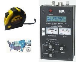 MFJ 259C HF/VHF Antenna/SWR/RF Analyzer w/ Meters w/ FREE Ra
