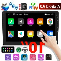 2DIN 10inch Android 9.0 Car Stereo GPS Bluetooth WiFi FM Rad