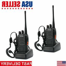 2Pack Baofeng BF-888S UHF Handheld CTCSS HT Two-way Radio Ha