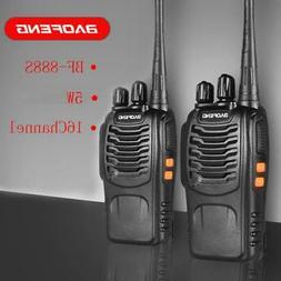 2X Baofeng BF-888S UHF Walkie Talkie 2 Two Way Radio 16CH 40
