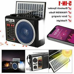 Solar Emergency Weather Hand Crank AM/FM/NOAA Radio w/3 LED