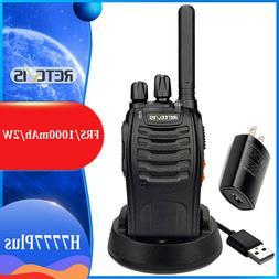 4XRetevis H777 WalkieTalkie 5W 16CH UHF400-470MHz CTCSS 2-Wa