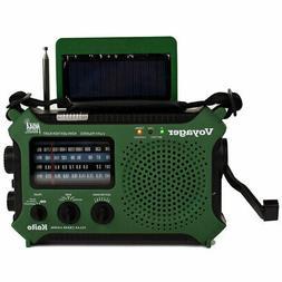 4 way powered emergency weather alert radio