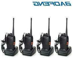 4x Baofeng BF-777S Two Way Radio UHF 400-470MHz 16CH Walkie