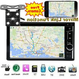 """6.2"""" Car Stereo CD DVD Player Mirror Link for GPS Radio Touc"""