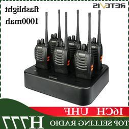 Retevis H777 Walkie Talkie 16CH UHF long range DCS two-Way R