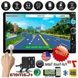 "7010B 7"" Double 2 DIN Car MP5 Player Stereo Radio Bluetooth"