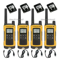 Motorola Talkabout T400 Rechargeable  Two-Way Radio Pair