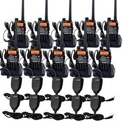 Retevis RT-5RV 2 Way Radios 5W VHF/UHF Radio 128CH Dual Band