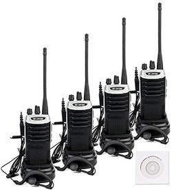 Retevis RT7 Walkie Talkies Rechargeable UHF 16 CH FM Two Way
