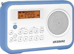 Sangean PR-D18BU AM/FM/Clock Portable Digital Radio with Pro