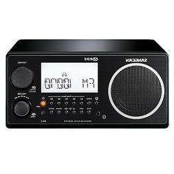 Sangean WR-2BK FM-RBDS AM Wooden Cabinet Digital Tuning Radi