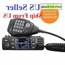 Anytone AT-778UV Dual-Band VHF/UHF 25W Mobile Two Way Radio