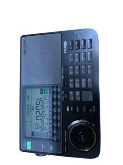 Sangean ATS-909X BK AM/FM World Band Receiver – Black