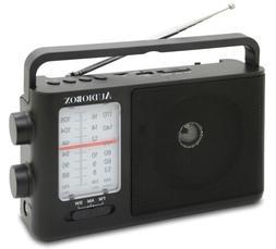 Audiobox RX-8BT Portable Bluetooth Radio AM/FM/SW Bands, USB