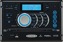 Jensen AWM968 AM/FM/CD/DVD/USB Bluetooth Stereo, Front USB s