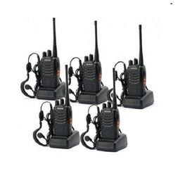 5 Pack BaoFeng BF-888S Long Range UHF 400-470 MHz 5W CTCSS D