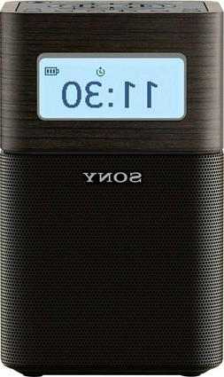 Sony Bluetooth AM/FM Clock Radio SRFV1BT