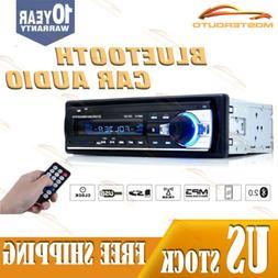 Bluetooth Car Stereo FM AUX Input Receiver SD USB MP3 Radio