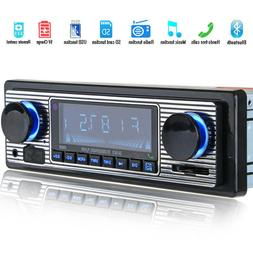 bluetooth vintage car fm radio mp3 player