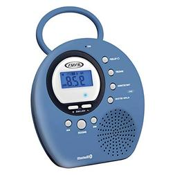 Jensen Bluetooth Wireless Waterproof Shower Speaker Radio wi