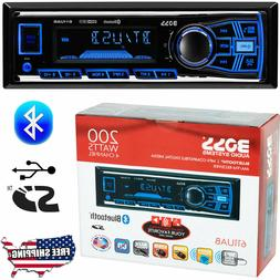 Boss Single Din USB SD AUX Radio Car Stereo Receiver Audio B