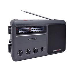 C Crane CC Analog Radio AM FM EP PRO Battery Operated Portab