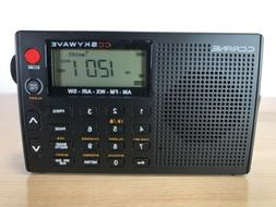 C.Crane CC Skywave AM/FM Portable Travel Radio with Manual