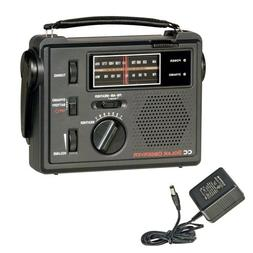 C. Crane Co COBS CC Solar Observer Wind Up Radio with AM FM