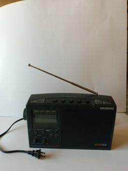 Sangean CC DX Radio Plus AM/FM/TV/Weather Multi Band Receive