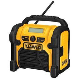 DEWALT 20V MAX/18V/12V Jobsite Radio, Compact