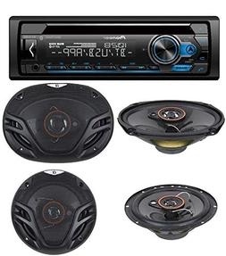 Pioneer Single Din CD AM/FM Receiver with MIXTRAX, Bluetooth
