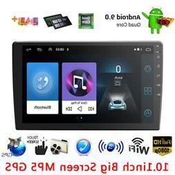 Double 2Din 10 inch Android 9.1 Quad Core Car Radio In Dash
