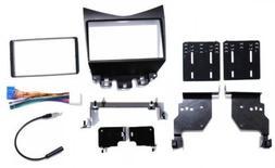 Double Din Radio Stereo Install Dash Bezel Kit +Harness & An