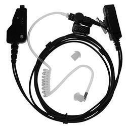 Tenq FBI Style 2 Wire Acoustic Tube Headset/earpiece for Ken
