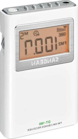 Sangean FM-Stereo / AM Pocket Receiver - 10 x FM, 5 x AM Pre