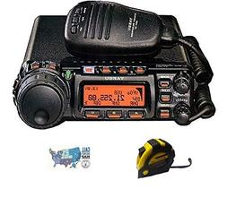 Yaesu FT-857D HF/VHF/UHF 100W Mobile Radio with FREE Radiowa