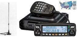 Yaesu FTM-100DR VHF/UHF 50W Mobile Transceiver with Comet Ma