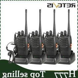 Long Range Radio Retevis H777 UHF Walkie Talkie For Hospital