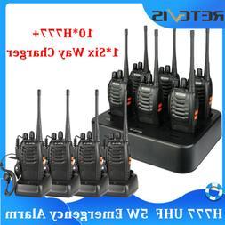 Retevis H777 WalkieTalkie Two-Way Radio 5W 16CH UHF400-470MH